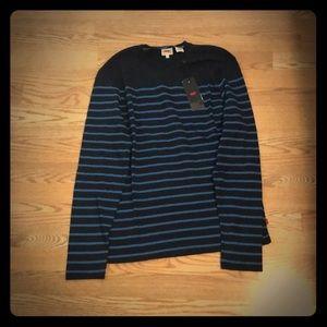 Levi's Medium-Top Long Sleeve Black Blue Timeless